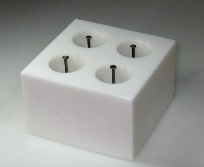 Der Apparat witafon für die Behandlung der Hämorrhoide