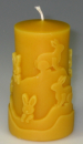 Mould: Candle with rabbits (F-O-8)