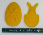 Mould for Reliefs: rabbit and egg (F-OAN-2)