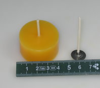 wick with plate: 35 mm for 4 cm diameter