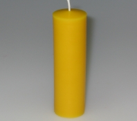 Silicone moulds: Smooth church candles (Type of top: tip)