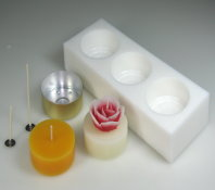 Making tealight (Diameter 6 cm) - Moulds and accessories