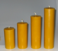 Mould for smooth church candles: Diameter 6,5 cm