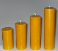 Mould for smooth church candles: Diameter 8 cm