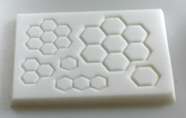 Mould for honeycomb decoration (verzier-5)