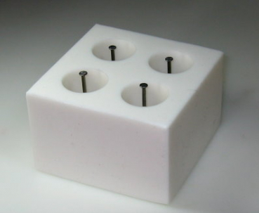Mould for casting for 4 smooth candles (TL-hoch)