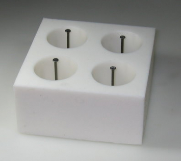 Mould for casting for 4 smooth candles (TL-HB)