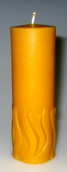 Mould: Flames candle (F-gk-7)