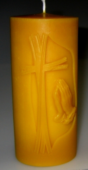 Candle Mould: Crux/pray (F-CH-3)