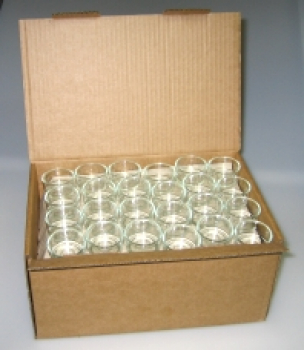 120 glas bowls in a package (120 Glasschalen)
