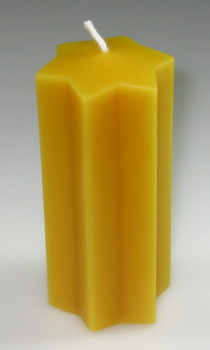 Silicone Mould: Star-Candle  (F-W25)