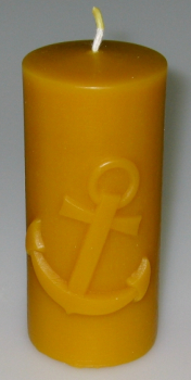 Mould: Candle with anchor