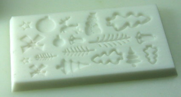 Mould for christmas decoration (verzier-10)