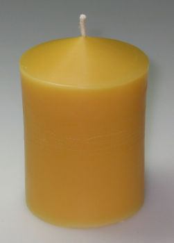 Mould for casting smooth candles 5.5 x 9.8 cm (F-70-100)