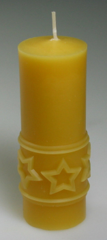 Mould: Candle with stars (F-W-36)