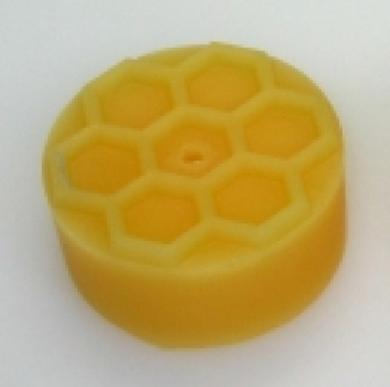 Tealight mould for 10 tealights with honey comb motif