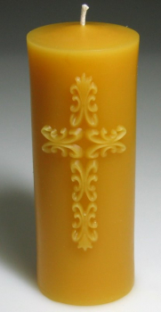 Mould for candle: Cross (F-CH-6)