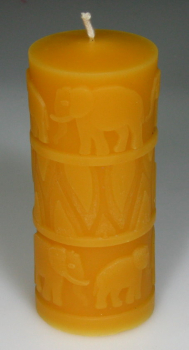 Mould: Elephants (F-T-2) - Little candle