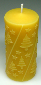 Silicone Mould: Trees and stars (F-W30)