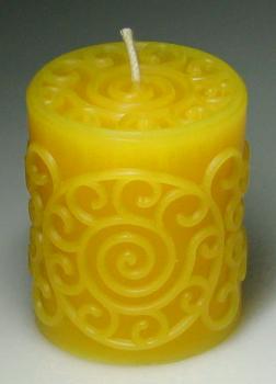 die Form herstellt DIY Kerze Handwerk Schimmel Aromatherapie-Kerzenform zur Herstellung von Duftkerzen Paraffinwachs Bienenwachskerzen,4,2/×5,2 cm Plastikherzf/örmige Kerze Kitabetty Kerzenform