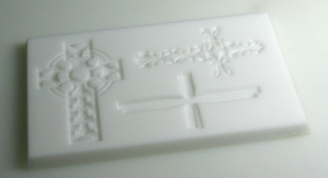 Mould for crosses decoration (verzier-14)
