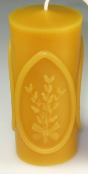 Mould: Candle with eggs and catkins (F-O-13)