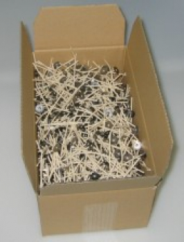 1000 Wicks with metal board, length 70 mm