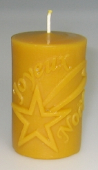 "Candle mould: Star ""Joyeux Noel"" (F-W1-FRA)"