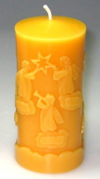 Angels on clouds candle mould
