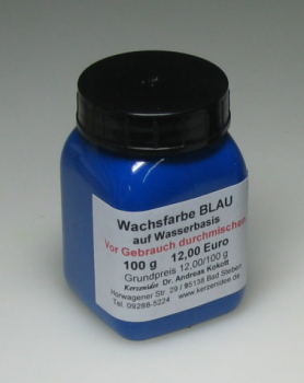 100 g BLUE Hydro-Wax paint for candles