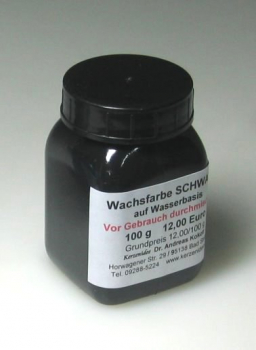100 g BLACK Hydro-Wax paint for candles