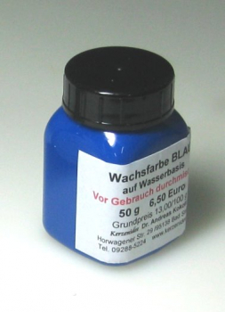 50 g BLUE Hydro-Wax paint for candles