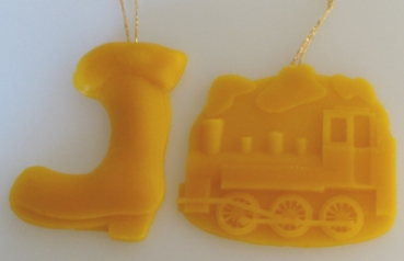 Mould for Reliefs: Loco and boot (F-WAN-6)