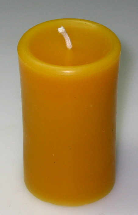 kerzenidee-shop - church candle candles bees wax smooth casting