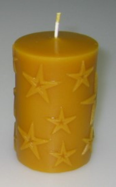 Candle mould: Christmas Stars (F-W2)