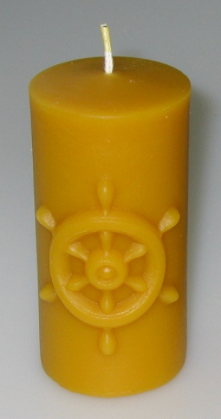 Mould: Candle with stearing wheel