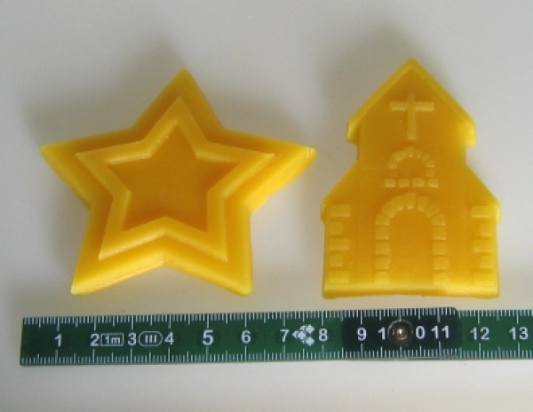 Mould for Reliefs: church and star (F-WAN-3)