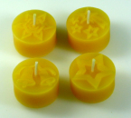 Tealight mould for 4 tealights (4 different flowers) - Kopie